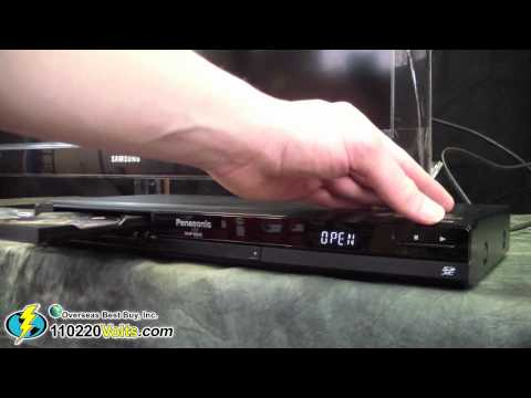 Panasonic DMP-BD45 Region Free Blu Ray DVD Player