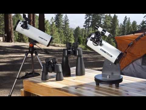 Cometron Telescopes and Binoculars Tour