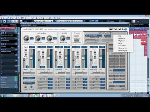 สอนใช้ Harmony Engine กับ cubase By ชาย ชาตรี