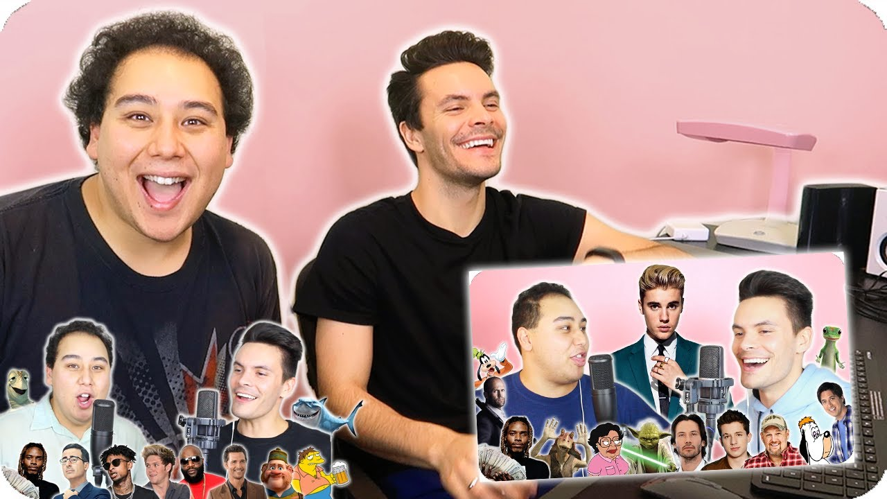 """Reacting to Our Impersonation Covers 