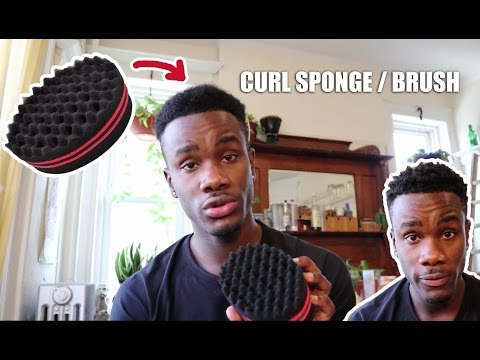 HOW TO USE A CURL/ TWIST SPONGE | Tutorial