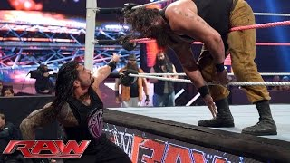 Roman Reigns vs. Braun Strowman: Raw, October 12, 2015