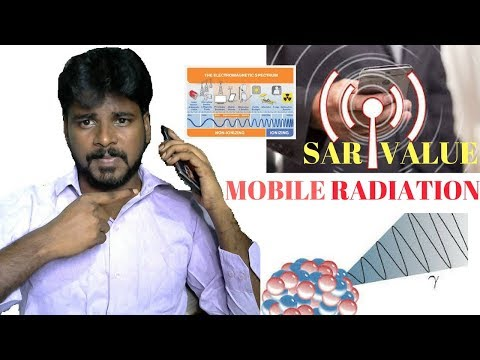 What is SAR Value? How to check Mobile Radiation? EXplained in Tamil