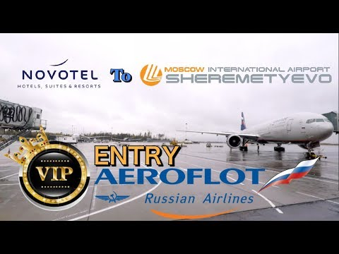 Novotel Hotel to Sheremetyevo Airport VIP Bus Ride | Moscow