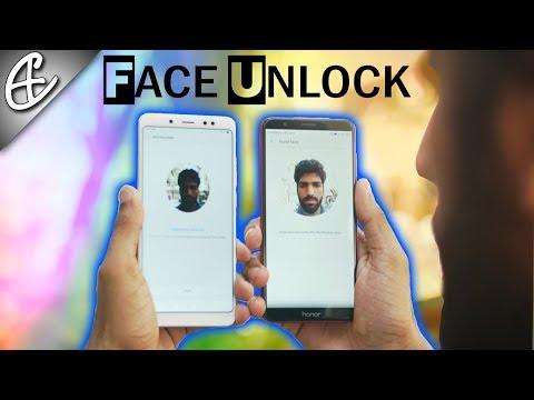 Redmi Note 5 Pro vs Honor 7X Face Unlock Battle!