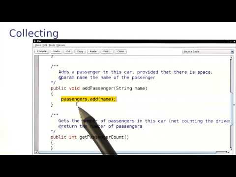 Collecting - Intro to Java Programming