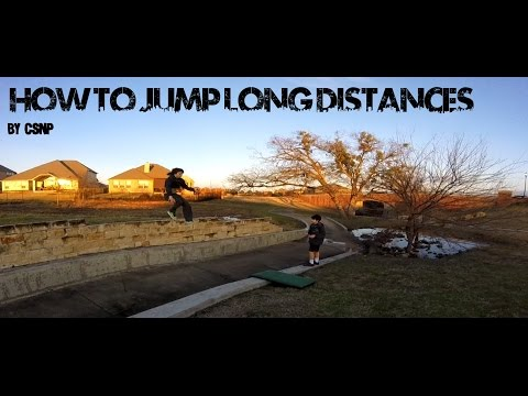 Parkour and Freerunning- How to Jump Long Distances - GoPro
