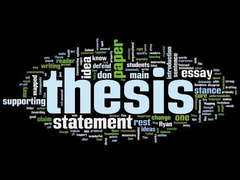 How to choose a thesis topic