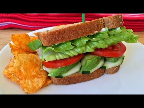 My (2ND) Favorite (Everyday) Vegetarian Sandwich