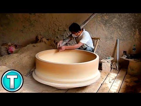 Massive Porcelain Pots