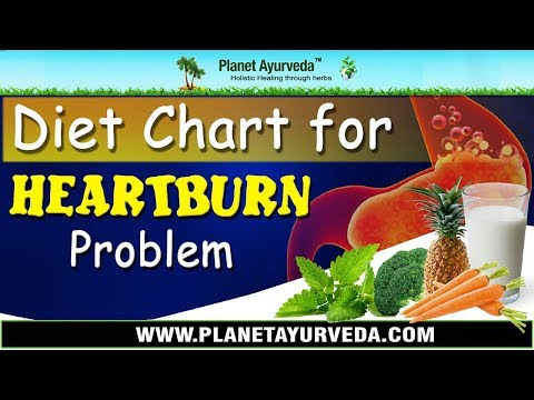 Diet Chart for Heartburn Problem - Foods To Avoid & Recommend