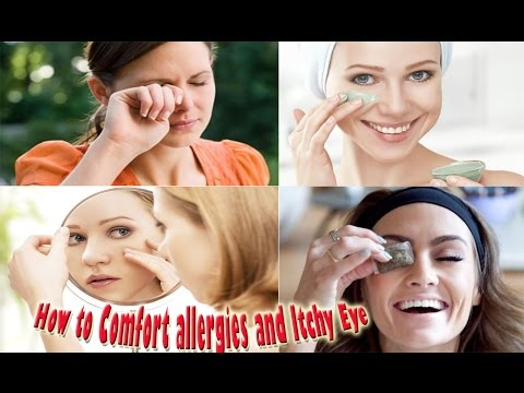 How to Comfort a Sore  Eye │Comfort a Sore and itchy eyes