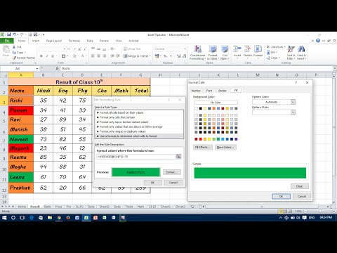 Use a Formula in Conditional Formatting - Excel
