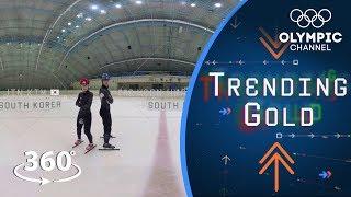 Bring It Home: Ye Jin Kim and Dae Heon Hwang prep for PyeongChang 2018   Trending Gold 360°
