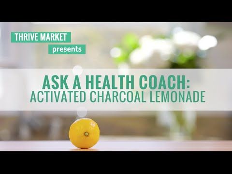 How to Make Charcoal Lemonade Detox Drink
