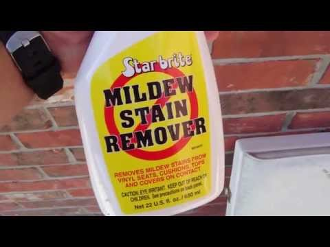 Remove Mildew Stains w/ Starbrite