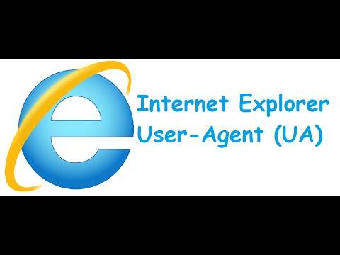 How to change Internet Explorer User-Agent (UA)