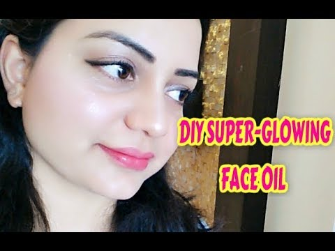 DIY Super Glowing Face Oil For Winter
