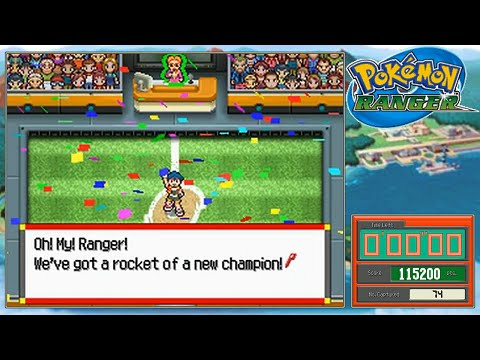 Let's Play Pokemon Ranger *Capture Arena*