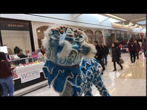 Happy Chinese New Year 2017, Lion Dance at King of Prussia Mall 1-28-2017