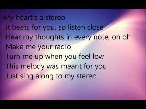 Megan and Liz Stereo Hearts Lyrics