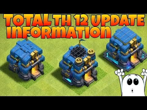 TOTAL Information of town hall 12. UPDATE news clash of clnas (hindi)sam1735
