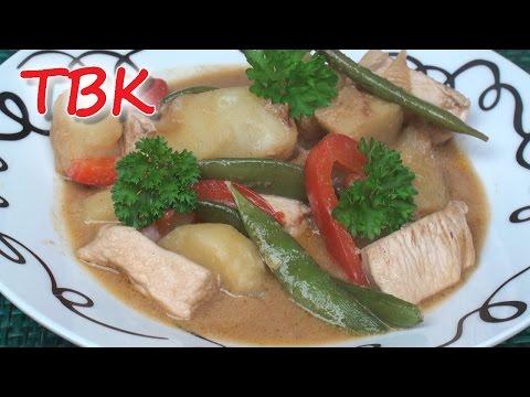 Potato, Chicken & Peanut Pot Recipe - Titli's Busy Kitchen
