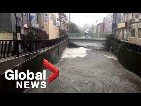Xxx Mp4 Fierce Typhoon Hits Northern Japan After Paralyzing Tokyo 3gp Sex