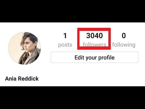 Get 3k instagram followers in 2 minutes