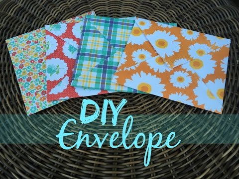 Easy DIY Envelope | Tutorial