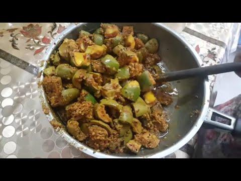 Mango pickle (aam ka achaar)