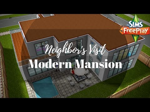 Modern Mansion By Miranda Gentin | Sims FreePlay