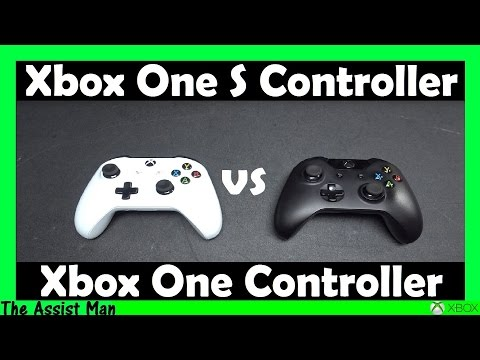 The New Xbox One S Controller vs The Standard Xbox One Controller In-Depth Review