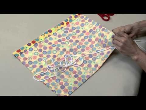 Singer Sew Fun Drawstring Backpack Instructional Video