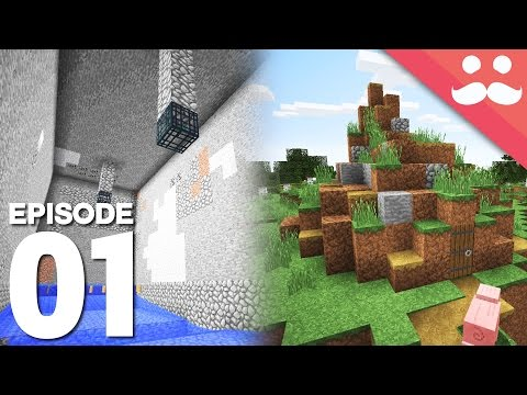Hermitcraft 5: Episode 1 - XP Farms, Diamonds, Dirt Huts!