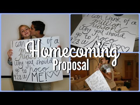 ASKING MY BEST FRIEND TO HOMECOMING  |  Charlie Kelley