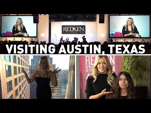 VLOG - Visiting Austin for the first time, with Redken for RAC