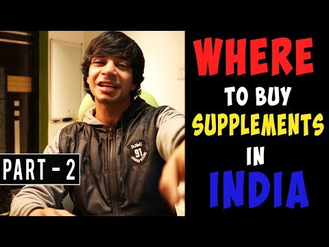 BEST Place To Buy CHEAPEST SUPPLEMENTS In INDIA | AESTHETICALLY