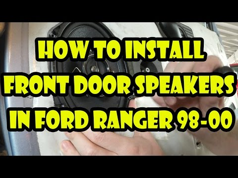 How to install or replace front door speakers - Ford Ranger 98-00 [ Easy guide ]