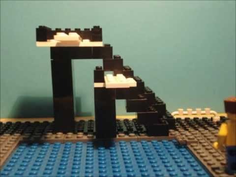Lego Diving Board