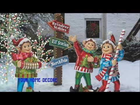 45 outdoor christmas yard decorations - diy christmas yard decorations: wooden christmas tree