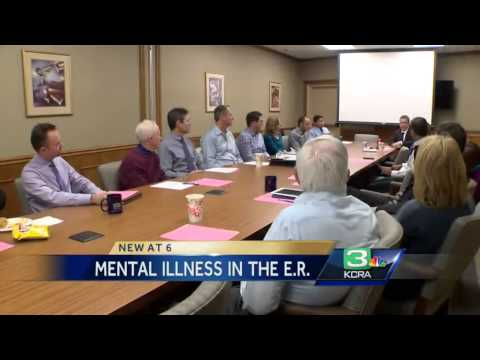 Health officials say mentally ill patients clog up ER