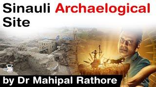 Secrets Of Sinauli - Sinauli Archaeological Site of Uttar Pradesh, Why is Sinauli unique? #Sinauli