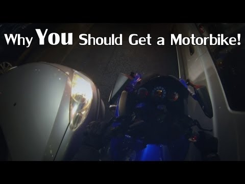 Why You Should Get a Motorbike