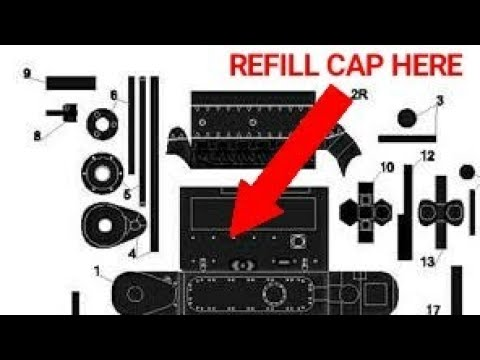 2004 Pontiac Grand Prix - How to fix - Power Steering Fluid refill LOCATION!!