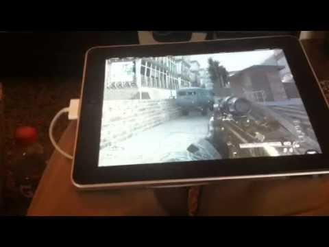 Playing Xbox on IPad (mw3)
