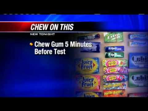 Researchers: Students Who Chew Gum Score Higher