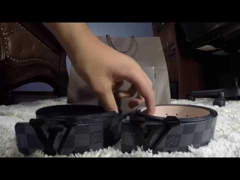 Louis Vuitton Belt Fake vs. Real Comparison