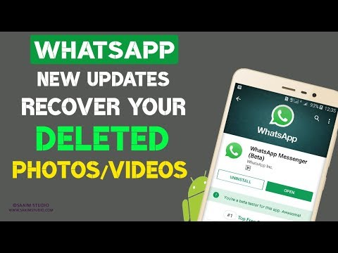 WhatsApp New Updates || How to recover WhatsApp deleted Photos and Videos?