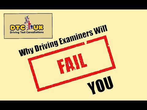 Why Driving Examiners Will FAIL You | DTC-UK | Driving Test UK